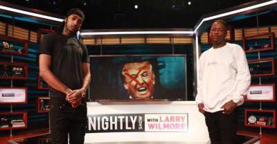 "Watch YG And Nipsey Hussle's Clean Version Of ""FDT"" On The Nightly Show"