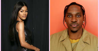 Kanye West appears to tweet album release dates for Teyana Taylor and Pusha T
