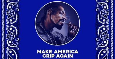 Snoop Dogg makes America Crip again