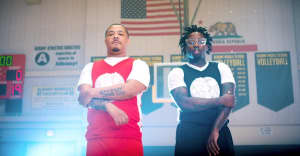 """ALLBLACK and Offset Jim run a play in their """"Penny & Shaq"""" video"""