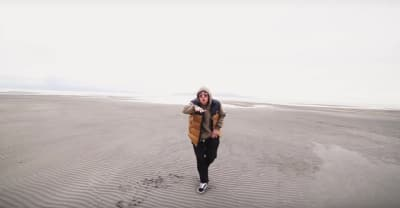 "Watch Mac Miller Hit The Beach In His ""Stay"" Video"