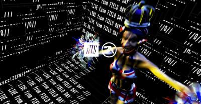 Watch Aphex Twin's Full Field Day Set
