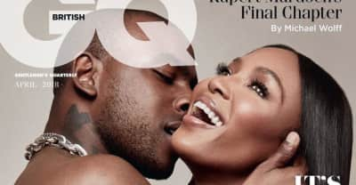 Watch Skepta and Naomi Campbell discuss how they first met