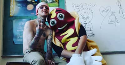 "Lil Peep Goes Back To High School In His ""Awful Things"" Video"