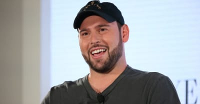 Scooter Braun is working with Kanye West again