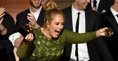 "Twitter Is Saying That That Adele Broke Her Album Of The Year Grammy To ""Share"" With Beyoncé"
