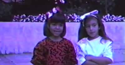 Kanye West Dropped Off A Home Movie Compilation For Kim Kardashian's Birthday