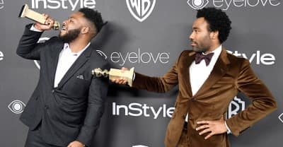 """Watch Donald Glover Turn Up To """"Bad And Boujee"""" After The Golden Globes"""