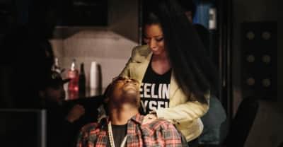 "Nicki Minaj Sparks New Pregnancy Rumors By Calling Meek Her ""Baby Father"""