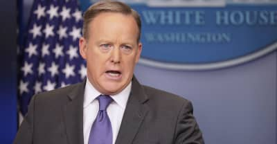 """Sean Spicer: Even Hitler Didn't Use Chemical Weapons """"In The Way Assad Used Them"""""""