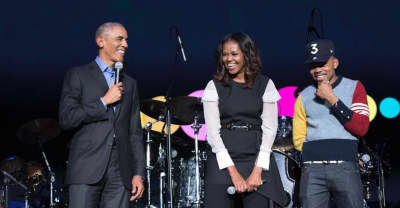 Watch Chance the Rapper perform at the Obama Foundation Summit