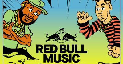 Zaytoven, Mija, Kenny Beats, Kranium, and Fuego performing at 2018 Red Bull Music Culture Clash