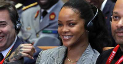 Stock market agrees with Rihanna