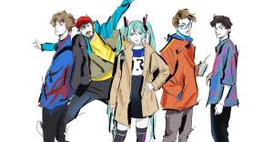 """Anamanaguchi Collaborate With Hatsune Miku For """"Miku"""""""
