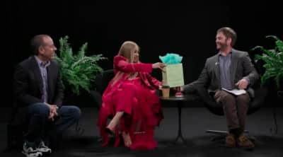 Watch Cardi B curve Jerry Seinfeld on Between Two Ferns