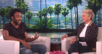 Watch Donald Glover Stop By Ellen To Talk Atlanta And Star Wars