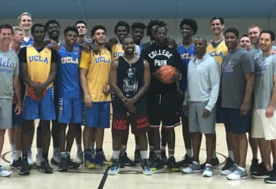 Kanye West And 2 Chainz Played Basketball With UCLA Men's Basketball Team