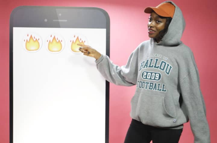 Watch Little Simz Charm Her Way Through A Game Of Emoji Roulette