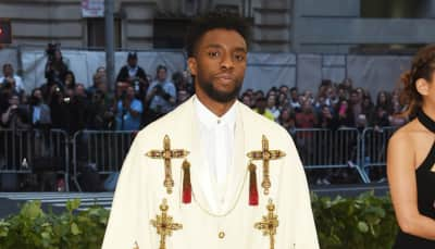 Chadwick Boseman sets the standard with his embellished Met Gala look
