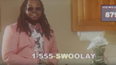 "Swaghollywood is the world's greatest TV salesmen in new ""Olay"" video"
