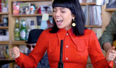 Watch Hurray For The Riff Raff's Tiny Desk Concert