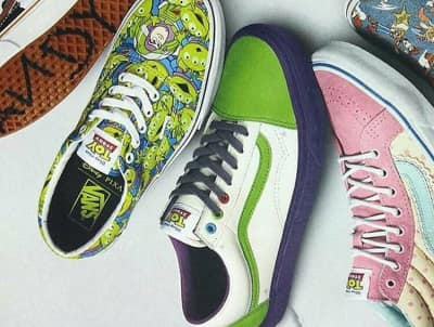 Vans Teams Up With Pixar For A Toy Story Collection