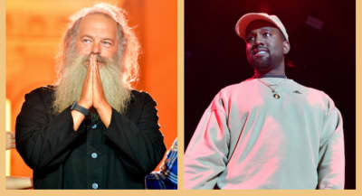 Kanye West and Rick Rubin reportedly linked up at a studio on Easter