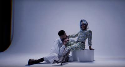 """DonChristian and bbymutha are friendship goals in the video for """"Crash"""""""