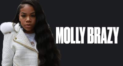 Molly Brazy talks being a female rapper and loving her music
