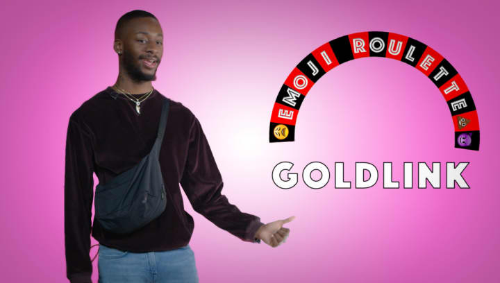 Watch Goldlink Keep It All The Way Real While Playing Emoji Roulette