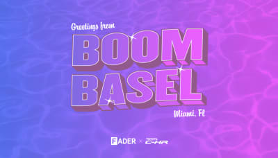 Get ready to do too much at The FADER's Art Basel party