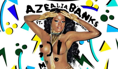"Azealia Banks drops ""Movin' On Up"""