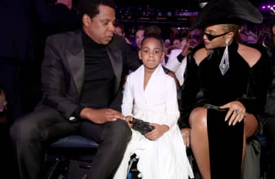 Blue Ivy just bid $19,000 on art