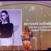 Watch Beyoncé accept an award for her humanitarianism