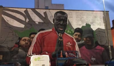 A Huge Stormzy Mural Has Appeared In Dublin