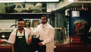 """Narcy and Cheb Moha Are Shawarma Stars In The Video For """"Chobi Bryant"""""""
