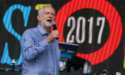 A DJ At Glastonbury Turned An Inspiring Jeremy Corbyn Speech Into A Techno Jam