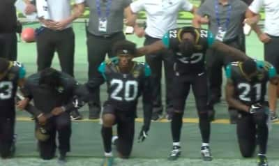 Trump's Absurd Remarks About The NFL Inspire More Athletes To Kneel