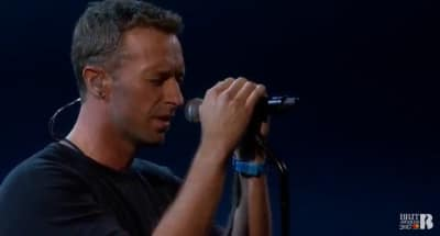 Watch Coldplay's Chris Martin Pay Tribute To George Michael At The 2017 BRIT Awards