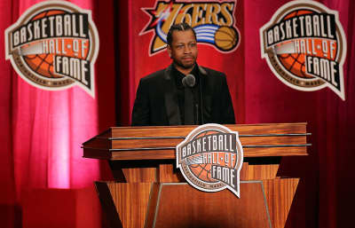 Allen Iverson Thanks Biggie, Tupac, Michael Jackson, And More In His Hall Of Fame Speech