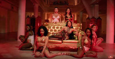 "Watch David Guetta's ""Light My Body Up"" Video Featuring Nicki Minaj, Lil Wayne"