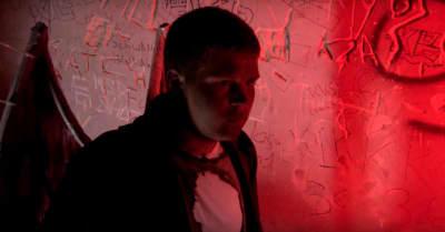 "jonatan leandoer127 (Yung Lean) shares video for ""hell rain"""