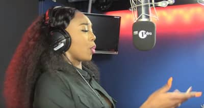 Watch Rising MC Ms Banks Tear Up BBC Radio 1Xtra With A Freestyle