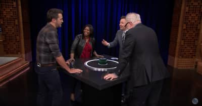Watch Octavia Spencer Play Catchphrase On Fallon