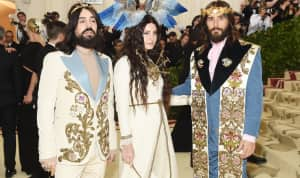 Lana Del Rey wore an avian headpiece to the Met Gala
