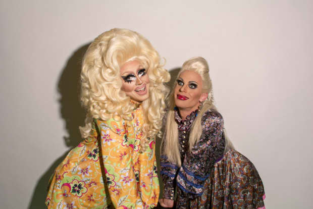 Trixie and Katya are out of their minds and they're going to take over the world