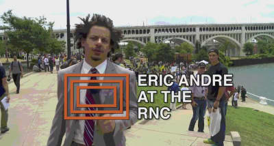 Watch Eric Andre Get Inside The Republican National Convention