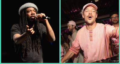 "Listen to Diplo and DRAM's new song ""Look Back"""