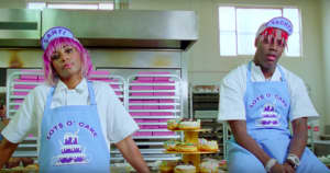 "Watch Lil Yachty and Santigold bake in the video for Diplo's ""Worry No More"""