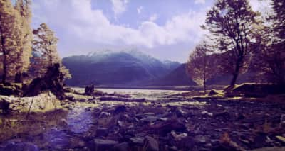 """Lontalius's """"Kick In The Head"""" Video Makes New Zealand Look Otherworldly Beauitul"""